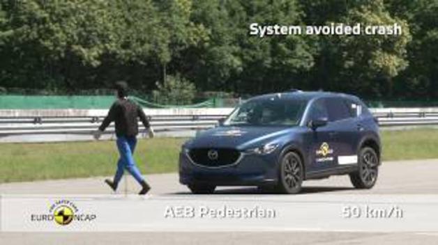 'Crash Test' en el nuevo Mazda CX 5