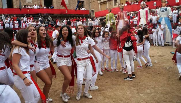 Cohete de las fiestas de Villafranca