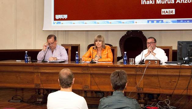 Ana Ollo destaca la colaboración en el aprendizaje de euskera en adultos