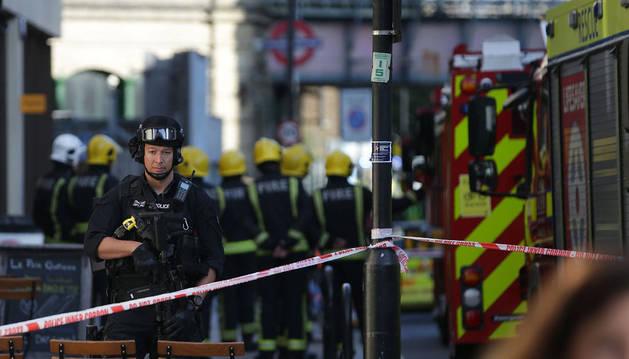 Varios heridos tras una explosión en el metro de Londres