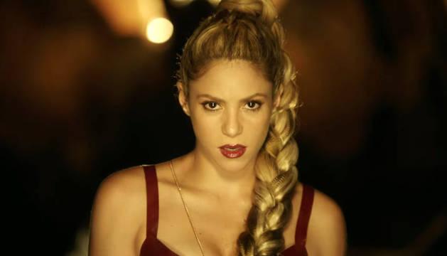 Fotograma del último videoclip de Shakira.