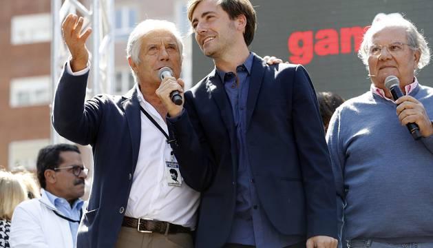 Madrid acogió este sábado 16 de septiembre un multitudinario homenaje por sus calles al piloto recientemente fallecido.