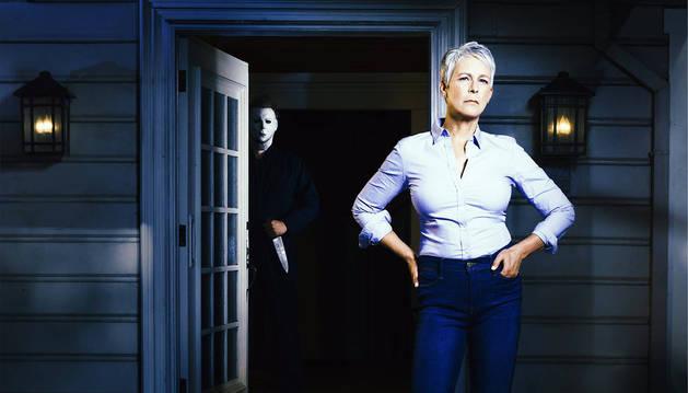 Jamie Lee Curtis regresa a la saga de terror 'Halloween'