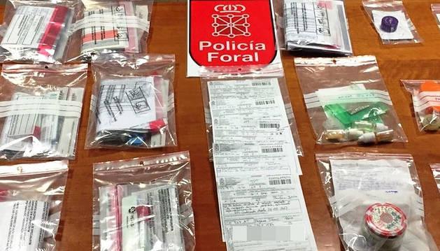 Policía Foral pone 31 multas en un control preventivo en una feria cannábica