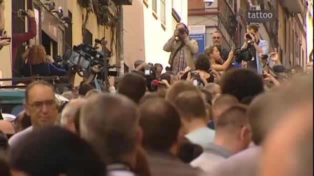 Éxito del acto en Madrid a favor del derecho a decidir de los catalanes