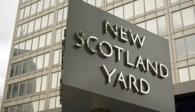 Scotland Yard en Londres