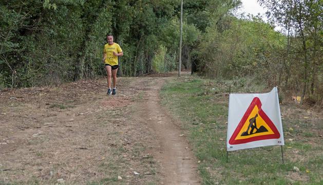 Tramo Valdelobos-Zubielqui, uno de los que se encuentran en obras y que completarán la vía verde.