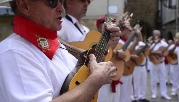 Fotos del día de la música en las fiestas de Olite