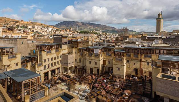 Imagen de la ciudad de Fez, lugar donde los turistas españoles se encontraban alojados.