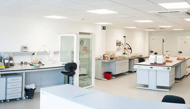 foto del Nuevo laboratorio de Semilla LG en Elorz.