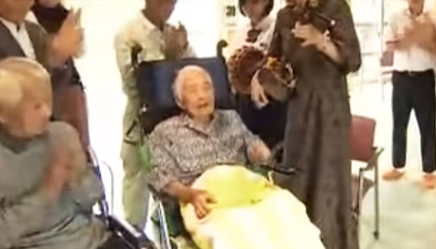 Nabi Tajima, de 117 años, es la persona más anciana del mundo