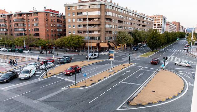 Una rotonda convencional para la Avenida Navarra