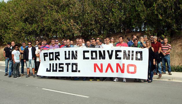 Desconvocada la huelga en Nano Tudela tras un acuerdo de convenio