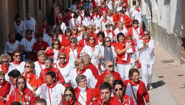 Fotos del Día de las mujeres en las fiestas de Villafranca