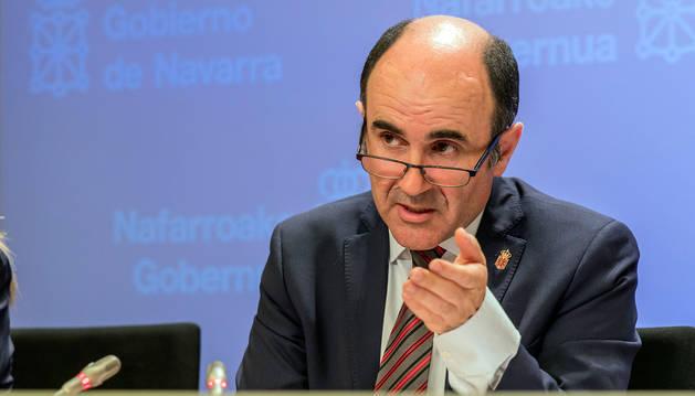 El vicepresidente del Gobierno de Navarra, Manu Ayerdi.