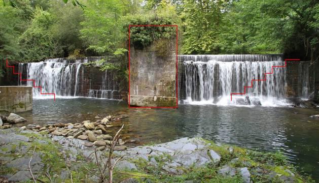 El jueves comenzará el derribo de la presa Igerizarreta de Ituren