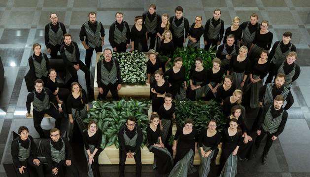 """El coro Chamber Choir  """"Sòla"""", procedente de Letonia, participará en el Ciclo Coral Internacional que comenzará el 27 de octubre en Pamplona."""