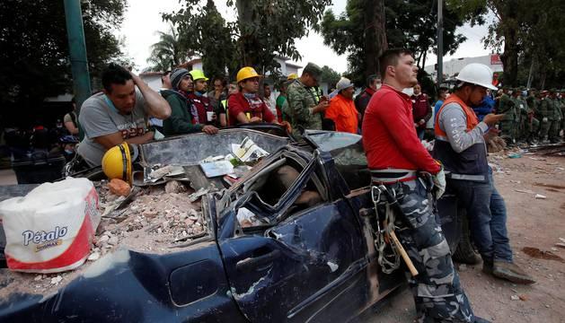 El terremoto de México en imágenes