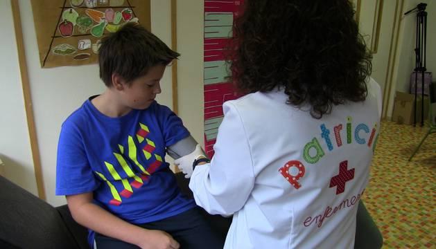 La figura de la Enfermería Escolar a prueba en Mendillorri y en la comarca Sakana