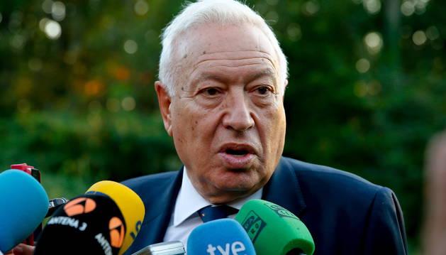 García-Margallo presentará el día 3 en Pamplona
