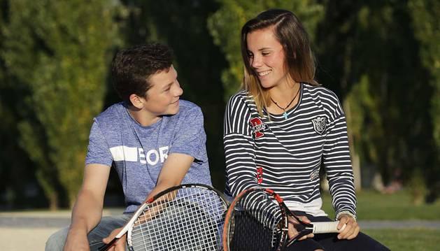 Los jóvenes reinan en el tenis navarro