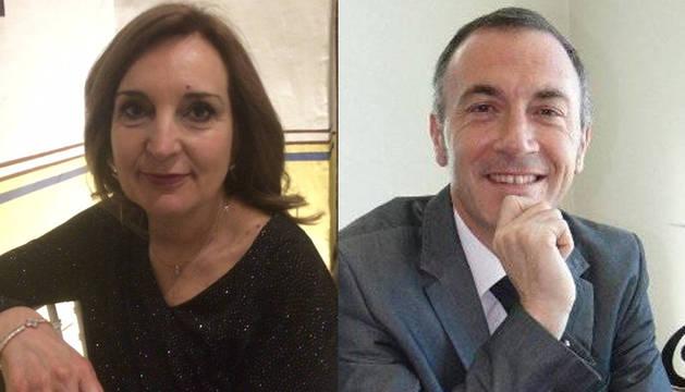 Los navarros en México: Lourdes Zabalza Gracia y Miguel Ángel Alonso.