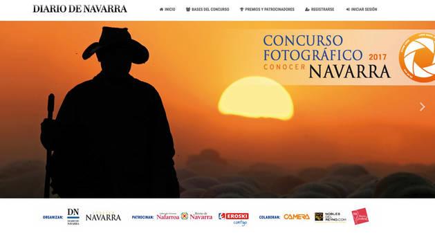 Los fotógrafos pueden enviar sus originales a través de la web: http://concursos.diariodenavarra.es/conocernavarra2017.