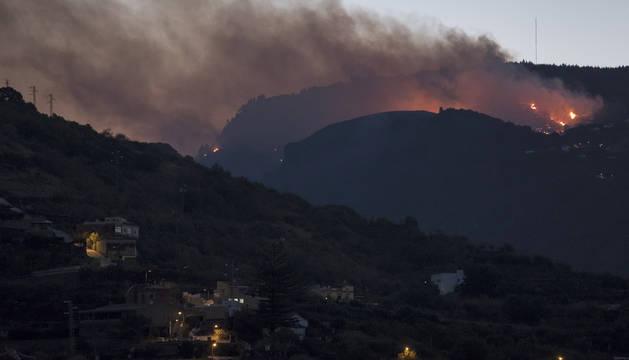 El incendio en Gran Canaria