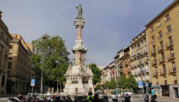 Paseo Sarasate de Pamplona.