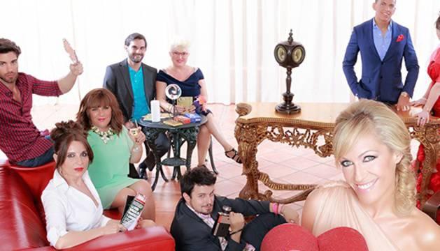 El elenco de concursantes en el programa de Cuatro