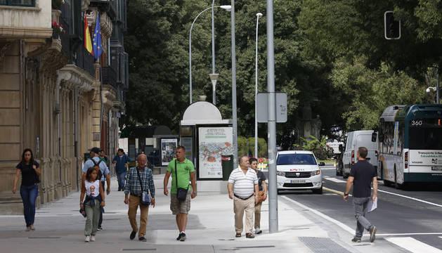 Foto de la calle Navas de Tolosa es una de las que más están notando la nueva regulación.