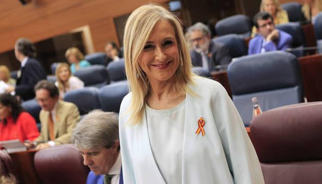 Foto de la presidenta de la Comunidad de Madrid, Cristina Cifuentes.