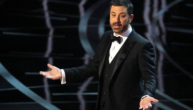 Foto de Jimmy Kimmel en los 89º premios Oscar 89th Academy Awards