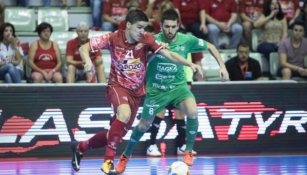 Roberto Martil durante el partido contra ElPozo Murcia