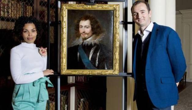 El retrato de Rubens encontrado.