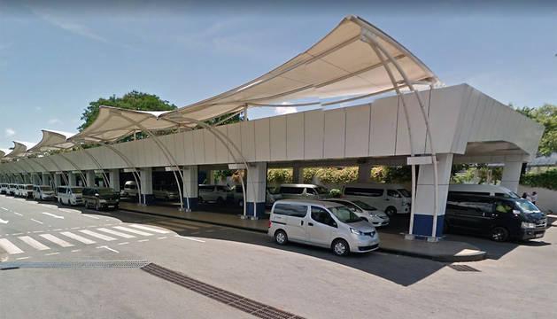 Aeropuerto Bandaranaike, en Sri Lanka.