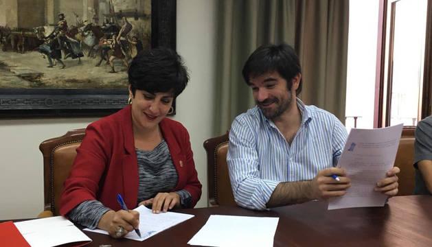 Un convenio garantiza la subvención del Conservatorio Fernando Remacha