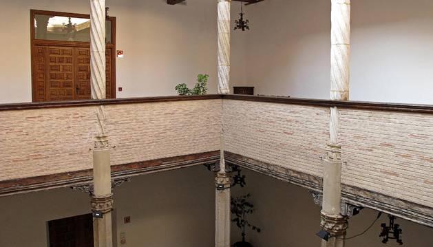 La casa de cultura Fray Diego de Estella, donde tiene lugar la Semana de Estudio Sefardíes.