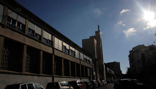El colegio de Salesianos, en el II Ensanche de Pamplona.