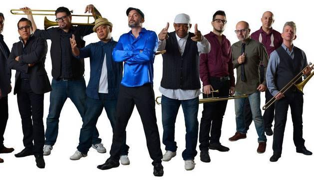 La orquesta Tromboranga actuará el sábado.