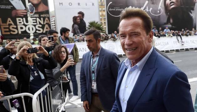 San Sebastián recibe a Schwarzenegger