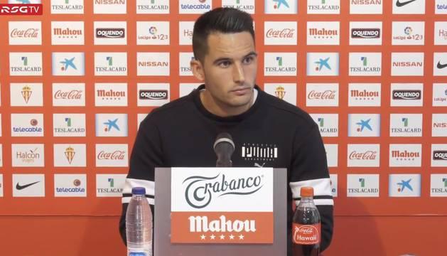 Isma López durante su comparecencia