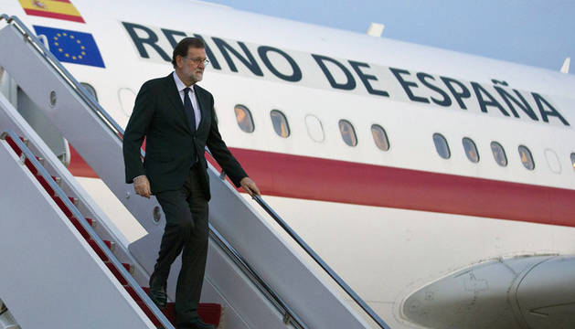 Rajoy llega a Washington para reunirse con Trump en la Casa Blanca