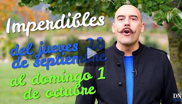 Agenda cultural de Navarra en vídeo hasta el domingo 1 de octubre