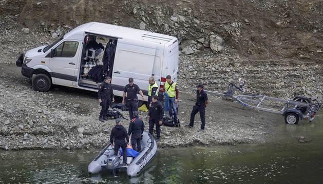 Los dos cuerpos hallados en Susqueda presentan evidentes signos de violencia