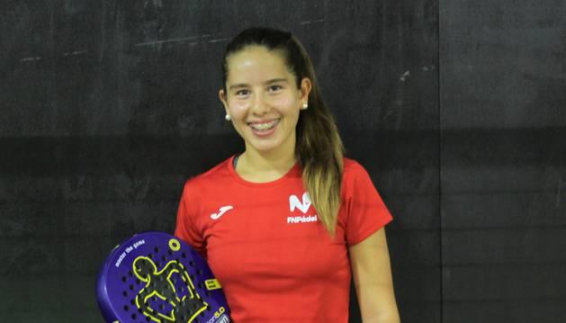 La jugadora infantil Martina Fassio