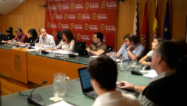 Bildu eleva al pleno de Tafalla su apoyo al proceso de Cataluña