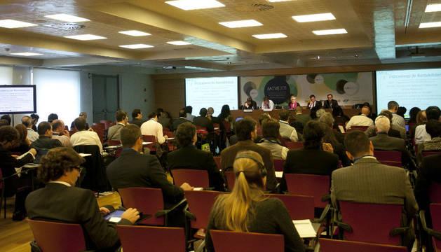 Imagen de los asistentes a una de las charlas de la conferencia internaciomal MOVE2017.