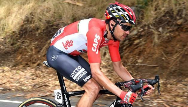 Valls con el maillot del Lotto Soudal