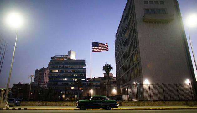 Foto de la embajada de EE UU en Cuba.